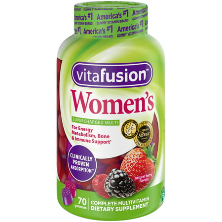 Vitafusion Women's Gummy Vitamins, 70 ct