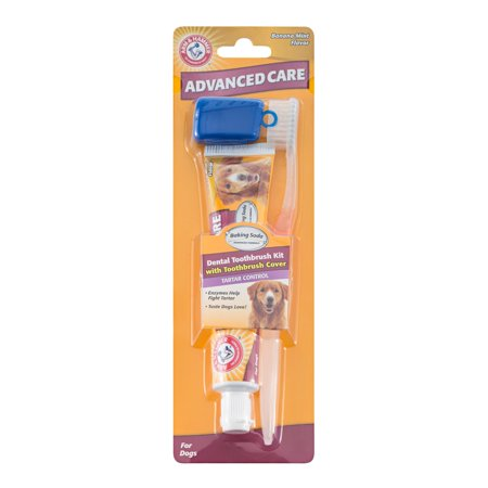 Arm & Hammer™ Advanced Care 3-Piece Dental Kit with Toothbrush, Cover, and Toothpaste in Banana Mint Flavor Advanced Care Brush