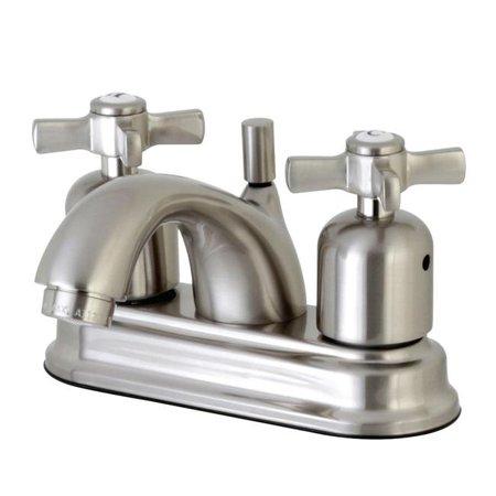 Kingston Brass FB2608ZX Millennium Centerset Lavatory Faucet Brushed Nickel - 9.19 x 7.16 x 6.26 in. - image 1 de 1