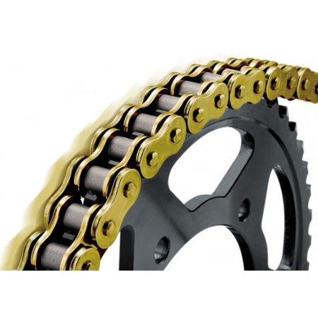 BikeMaster 530 BMXR Series Sealed Chain 130 Links Gold