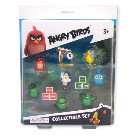 Angry Birds Movie Mini Figure Multi Pack Set B (7 Piece) - Angry Birds 1-11 Halloween