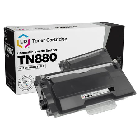 Dr350 12000 Yield (Compatible Brother TN880 Super High Yield Black Toner Cartridge, 12,000 Pages )
