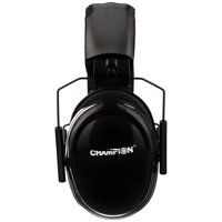 Deals on Champion Black Passive Ear Muffs Carded Pack