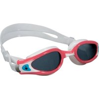 1587720b2c Aqua Sphere Kaiman EXO Lady Goggles  Coral White with Smoke Lens