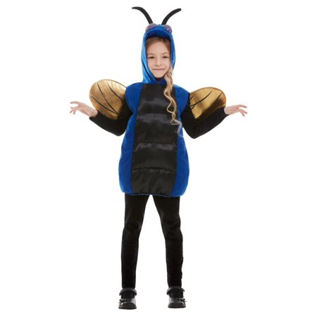 Creepy Quotes About Halloween (Blue and Black Creepy Bug Unisex Child Halloween Costume -)