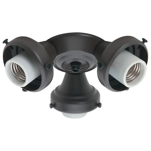 Hunter Fan Company 99134 3 Light Fitter, New Bronze