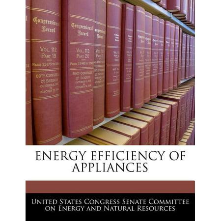 Energy Efficiency of Appliances Energy Efficiency of Appliances