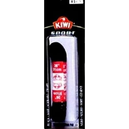 Kiwi Lace Size 36 Sport Black Flat Shoelaces, 3.2 Ounce (Pack of (Sport Shoelaces)