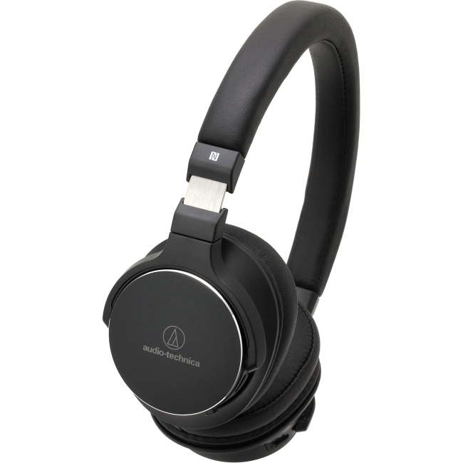Audio Technica Wireless On-Ear High-Resolution Audio Headphones - Black ATH-SR5BTBK