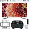 Sony XBR75X900F 75-Inch 4K Ultra HD Smart LED TV 2018 Model + Wireless Keyboard + Wall Mount Kit Bundle E20SNXBR75X900F XBR75X900F 75-Inch 4K Ultra HD Smart LED TV (2018 Model)AC Power CordBatteriesIR BlasterOperating InstructionsQuick Setup GuideTable Top StandVoice Remote ControlBundle Includes:Sony XBR75X900F 75-Inch 4K Ultra HD Smart LED TV 2018 ModelDeco Gear 2.4GHz Wireless Backlit Keyboard Smart Remote with Touchpad MouseStanley SurgePro 6 NT 750 Joule 6-Outlet Surge Adapter with Night LightDeco Mount Flat Wall Mount Kit Ultimate Bundle for 45-90 inch TVs