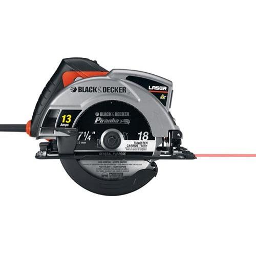 "Black & Decker 7-1/4"" Laser Circ Saw Model, CS1030L"
