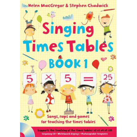 Singing Subjects   Singing Times Tables Book 1  Songs  Raps And Games For Teaching The Times Tables  Jp Oversized