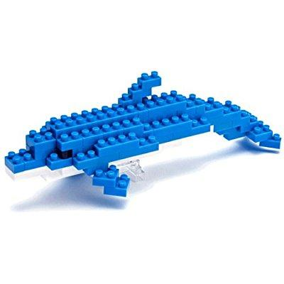 Bottlenose Dolphin Mini Building Set by Nanoblock (58115) by nanoblock