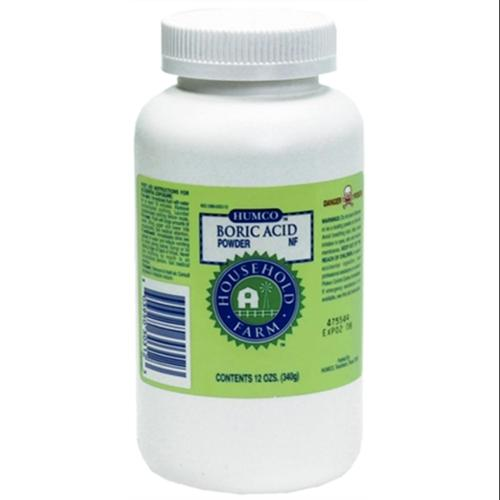 Humco Boric Acid Powder NF 12 oz (Pack of 3)
