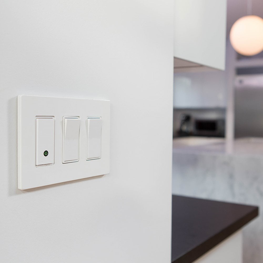 Smart Light Switch >> Belkin Wemo Wi Fi Smart Light Switch Walmart Com