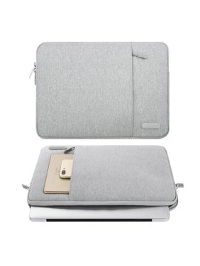 Mosiso for Macbook Air Retina Pro 13 13.3 inch Water Repellent Laptop Sleeve Bag, Gray
