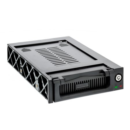 Aleratec 3.5-Inch Hard Drive Mobile Rack for 5.25-Inch Bay with Fan