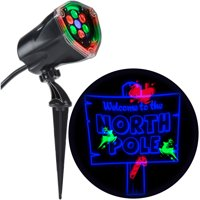 Lightshow Projection Plus-Whirl-a-Motion Static-North Pole by Gemmy Industries