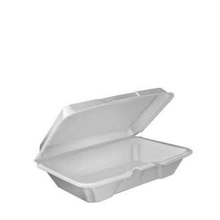 Single Foam Hinged Container - Case of 200