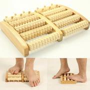Best Foot Roller Massagers - Meigar Dual Foot Massager Wooden Roller Feet Acupressure Review