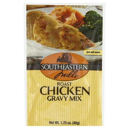 Southeastern Mills Roast Chicken Gravy Mix, 1.7 oz (Chicken Gravy Mix)