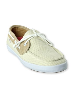 1c491785ea Product Image Vans Womens Chauffette Natural Stripes Comfort Boat Shoes