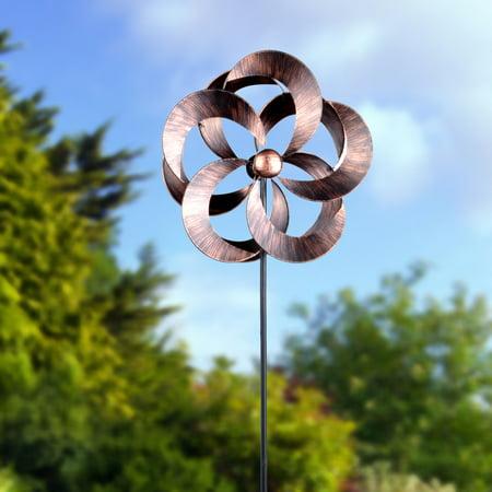 Mainstays Outdoor Copper Wind spinner - Walmart.com