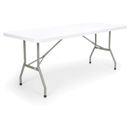 Image of 6' Essentials Collection Folding Utility Table White - Ofm