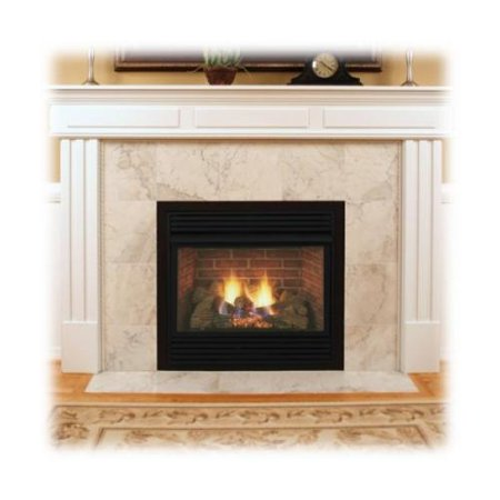 Monessen Dfs32nvc 32 Natural Gas Fireplace With 24 Triple Play Burner Charred Timber Logs