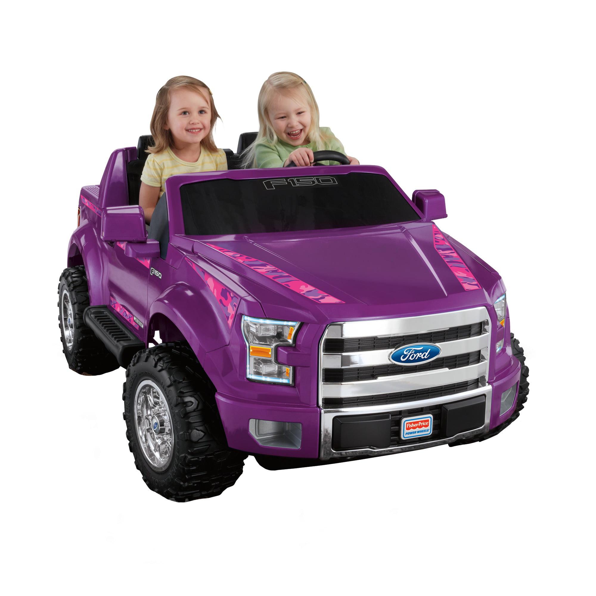 Power Wheels Ford F150 12 V Ride On Walmart Com Walmart Com