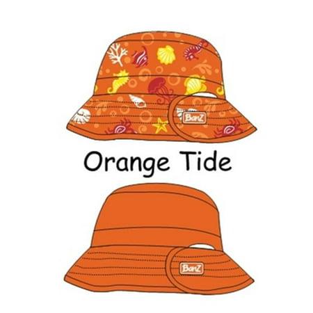f12d3ce12 Baby Banz-KHROT UV Reversible Bucket Hat-Orange Tide-Ages 2-5 ...