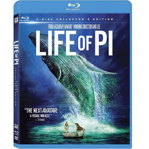 Life Of Pi (3D Blu-ray   Blu-ray   DVD   Digital Copy) (With INSTAWATCH) (Widescreen)