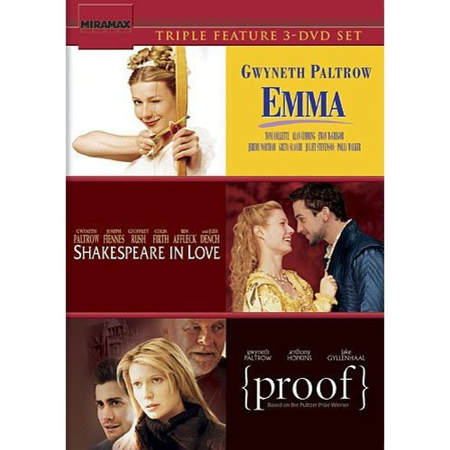 Gwyneth Paltrow Triple Feature (Emma   Shakespeare in Love   Proof) by
