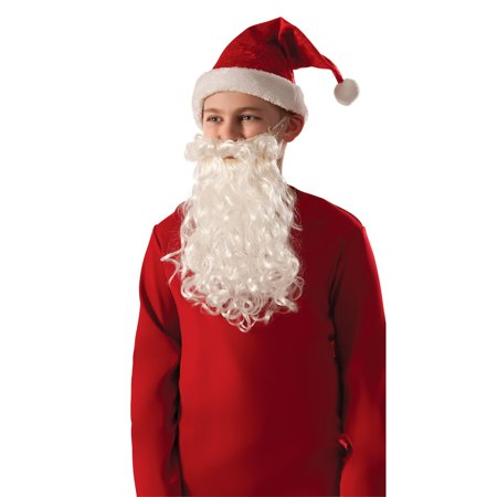 Kids Santa Beard and Mustache - Beard And Mustache Costume