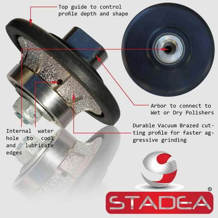 - Stadea Diamond Profile Wheel Demi 3/8
