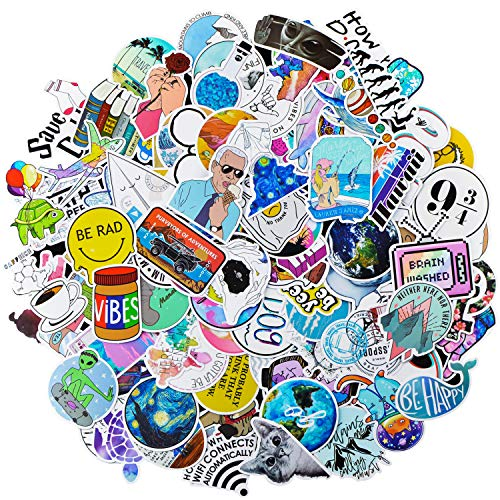 Waterbottle Sticker Pack Girls Teens Cute Aesthetic Laptop Vinyl Decal Gift Teen