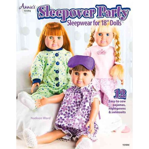 Sleepover Party Sleepwear for 18-Inch Dolls