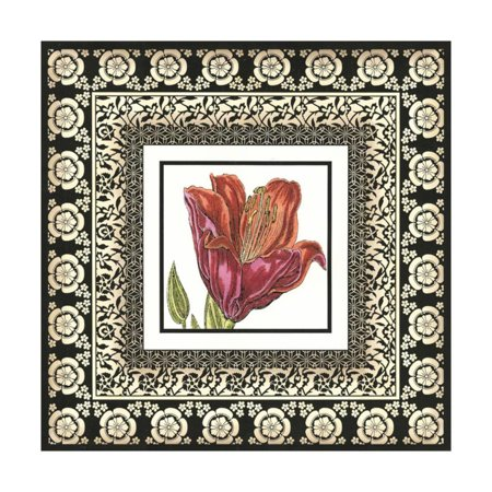 Printed Floral Potpourri II Print Wall Art By Vision (Georges Briard Floral Potpourri)