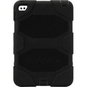 brand new 37f35 8fd84 Griffin GB41357 Survivor All-Terrain iPad Mini 4 Case, Rugged - Black &  Citron