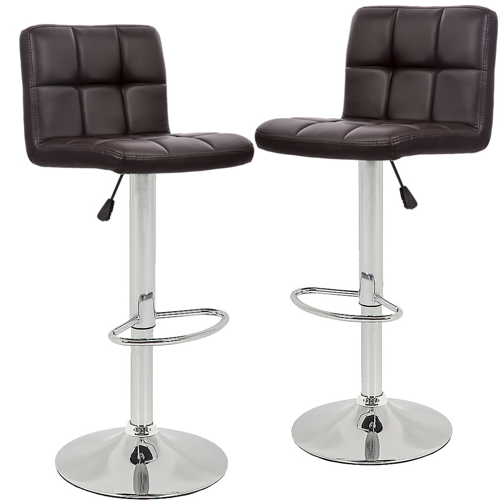 Astonishing Bar Stools Barstools Swivel Stool Height Adjustable Pu Short Links Chair Design For Home Short Linksinfo