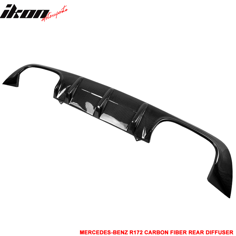 11-14 Benz SLK Class R172 Rear Diffuser Lip Spoiler - Car...