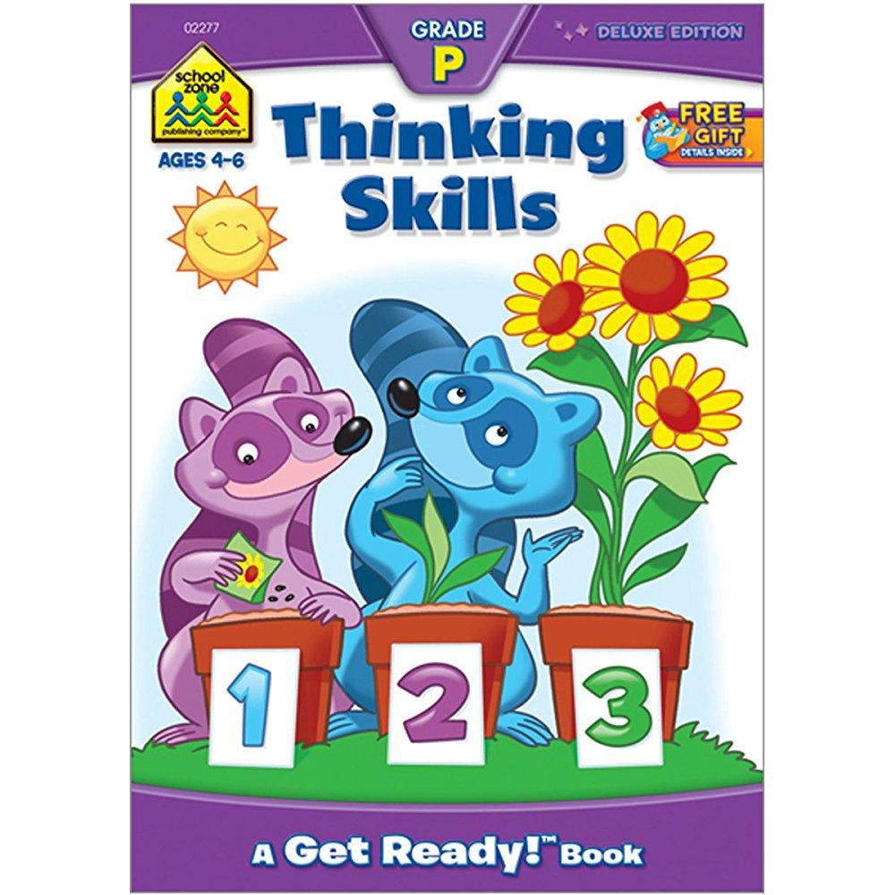 school zone workbooks thinking skills grade p