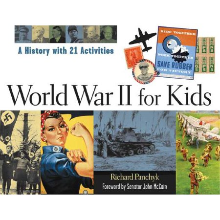 World War II for Kids : A History with 21 - The History Of Halloween Activity