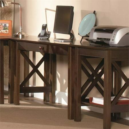 Leo & Lacey Writing Desk in Walnut - image 1 de 4