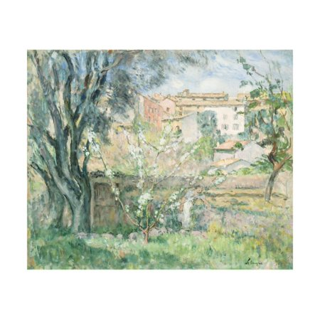 The Artist's Garden in Cannet, Le Jardin de L'Artiste au Cannet, 1931 Print Wall Art By Henri Lebasque](Le Jardin Halloween)