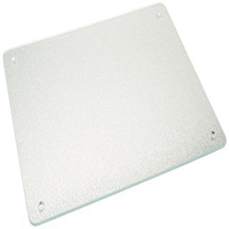 Vance 15 X 12 inch Clear Surface Saver Tempered Glass Cutting Board, 81512C Tempered Glass Prep Board
