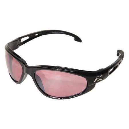 - EDGE EYEWEAR Safety Glasses,Rose Mirror SW119