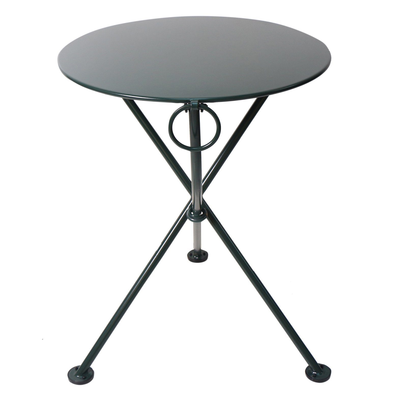 Furniture Designhouse Round European Cafe 3-Leg Folding Bistro Table - 28 in.