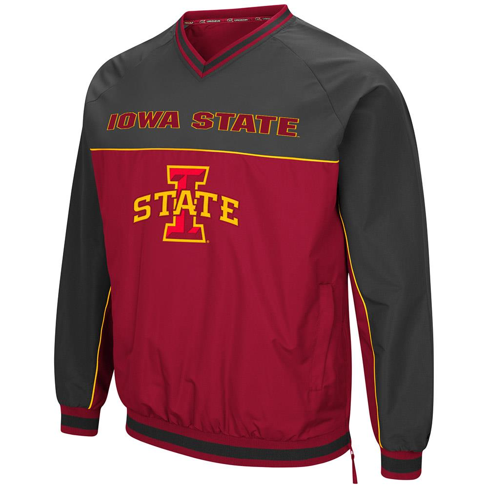 Mens Iowa State Cyclones Windbreaker Jacket L by Colosseum