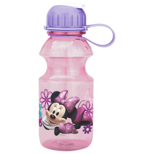 Zak Designs Disney Minnie Mouse Tritan Bottle, 14 oz